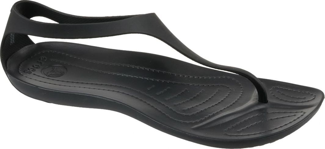 specjalne wyprzedaże wyprzedaż ze zniżką wielka wyprzedaż Crocs Sandały damskie Sexi Flip Wmns czarne r. 38/39 (11354-060) ID  produktu: 4574477
