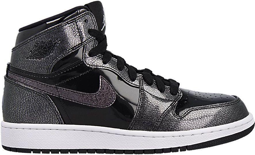 innowacyjny design Zjednoczone Królestwo tanio na sprzedaż Jordan Buty dziecięce Air Jordan 1 Retro High BG czarne r. 37.5  (705300-017) ID produktu: 4574904