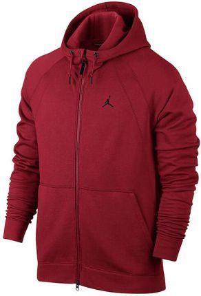 autentyczny Data wydania wyprzedaż w sprzedaży Jordan Bluza męska Jumpman Brush czerwona r. 2XLT (688995-011) ID produktu:  4574910