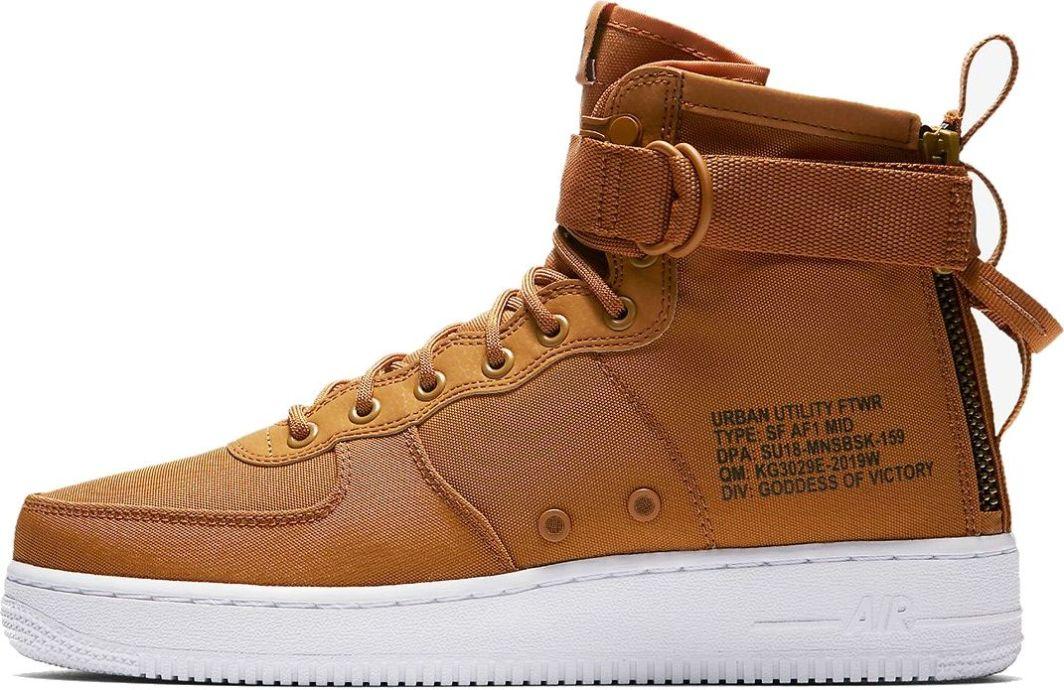 buy online 83b4f a1061 Nike buty męskie Air Force 1 SF Mid brązowe r. 41 (917753-700) w  Sklep-presto.pl