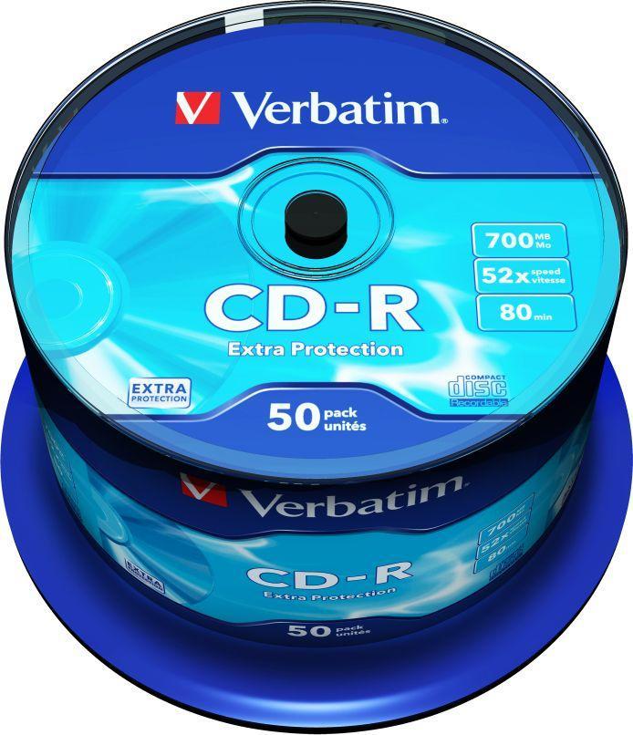Verbatim CD-R 700 MB 52x 50 sztuk (43351) 1