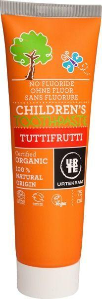 Urtekram Pasta do zębów dla dzieci Tuttifrutti 1