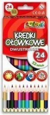 Penmate Kredki Premium Kolori dwustronne 24 kolory 1