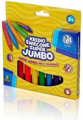 Astra Kredki świecowe Jumbo 8 kolorów 1