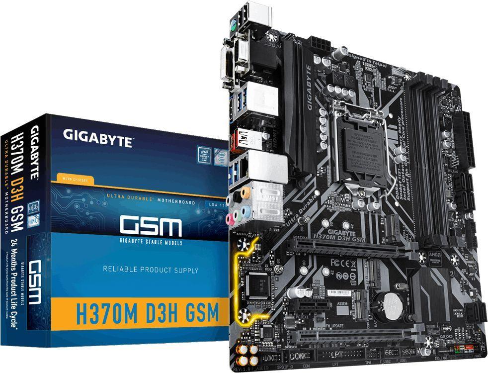 Płyta główna Gigabyte H370M D3H GSM 1
