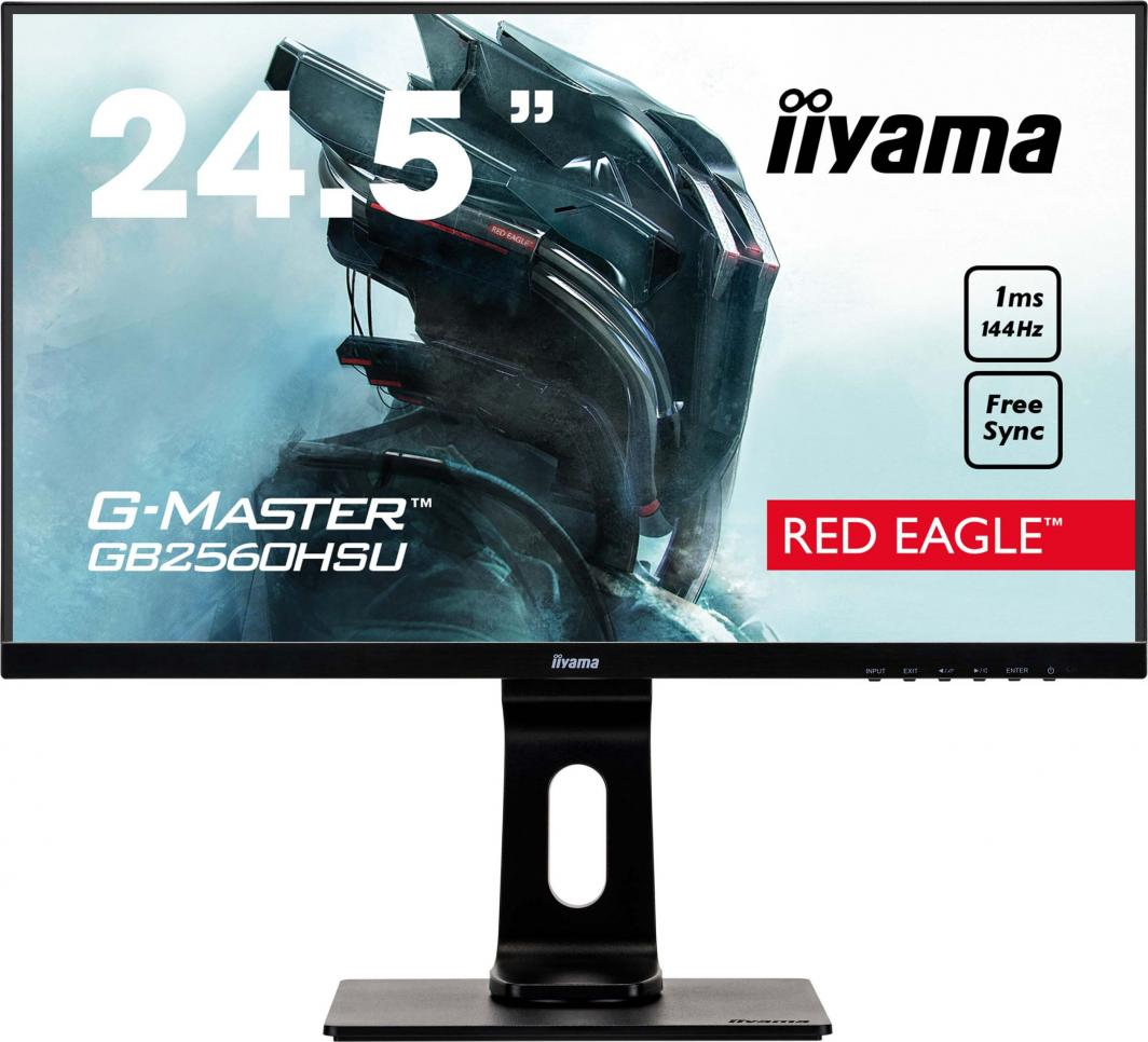 Monitor iiyama G-Master Red Eagle GB2560HSU-B1 1