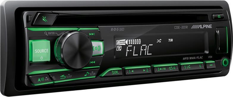 Radio samochodowe Alpine Radioodtwarzacz samochodowy Alpine CDE-201R 1