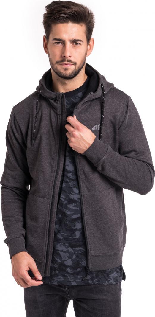 4f Bluza męska H4Z18 BLM002 Grafitowa r. XXL ID produktu: 4585858
