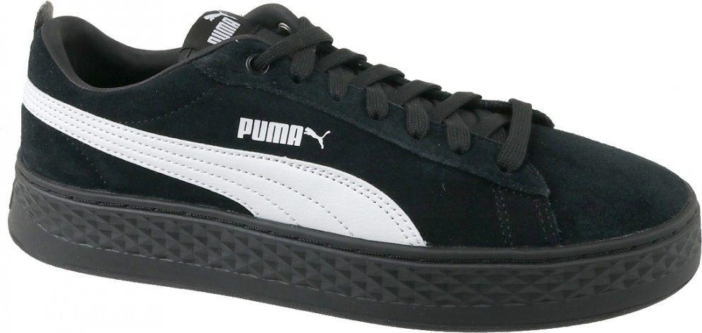 Puma Buty sportowe damskie Smash Platform Suede czarne r. 40.5 (366488 02) ID produktu: 4587555