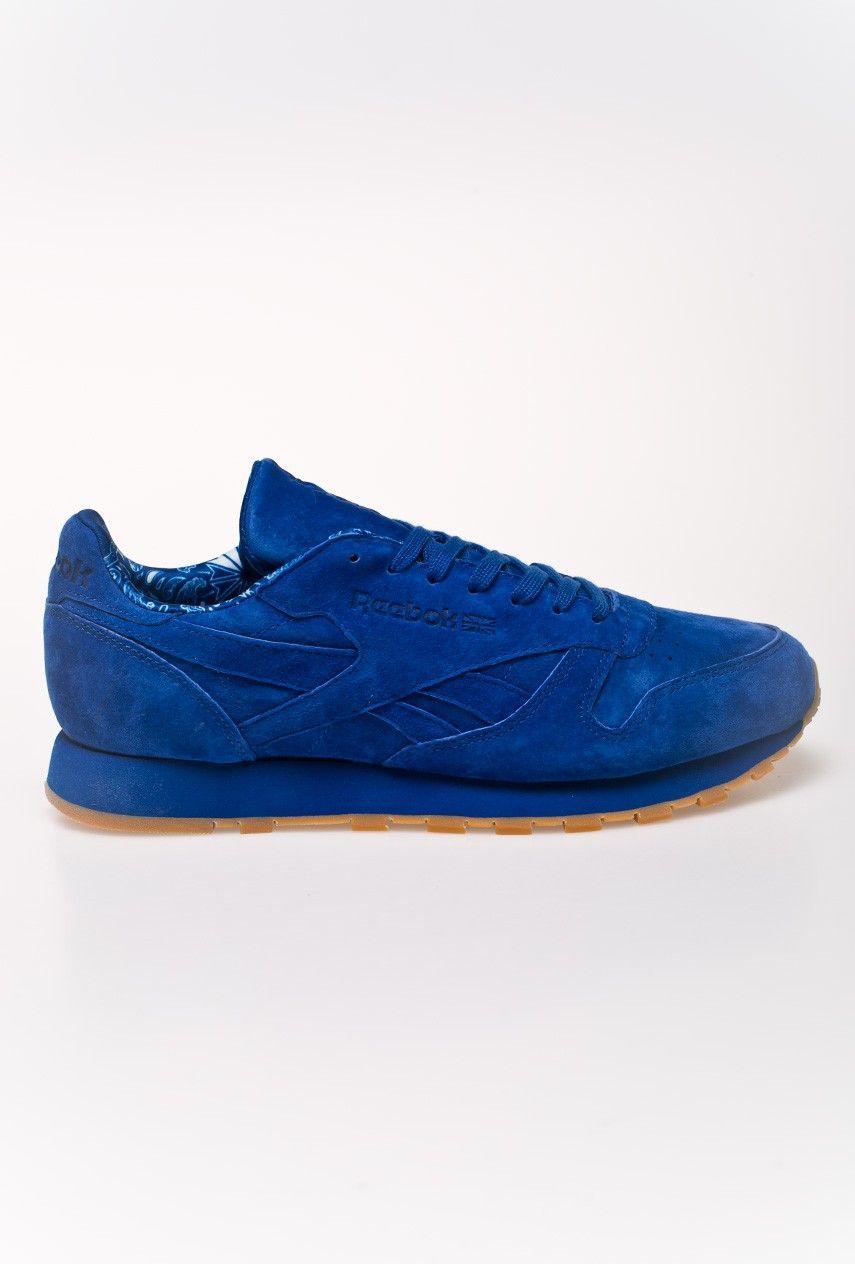 Reebok Buty juniorskie Classic Leather TDC niebieskie r. 37 (BD5052) 1