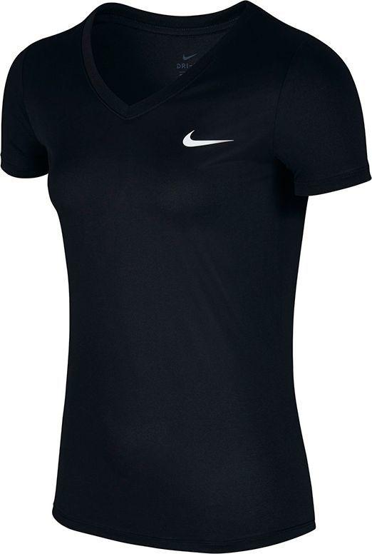 d1617f0b891690 Nike Koszulka damska Dry T-Shirt V-Neck czarna r. S w Sklep-presto.pl