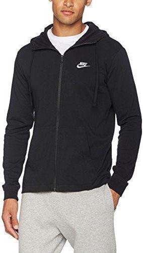 8a80294e Nike Bluza męska M NSW Hoodie FZ JSY Club czarna r. L (861754-010) ID  produktu: 4588140