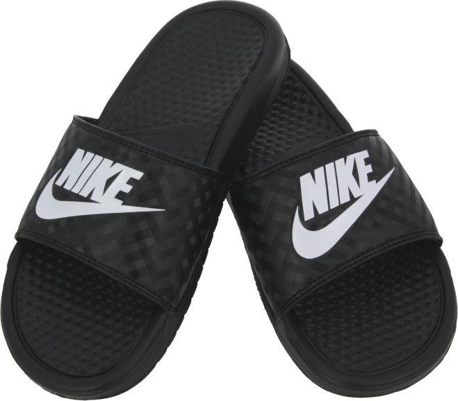 cad339280e969 Nike Klapki damskie Benassi Just Do It czarne r. 39 (343881 011) w Sklep -presto.pl