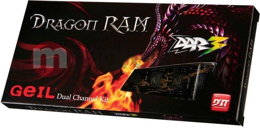 Pamięć GeIL Dragon, DDR3, 8 GB, 1333MHz, CL9 (GD38GB1333C9DC) 1
