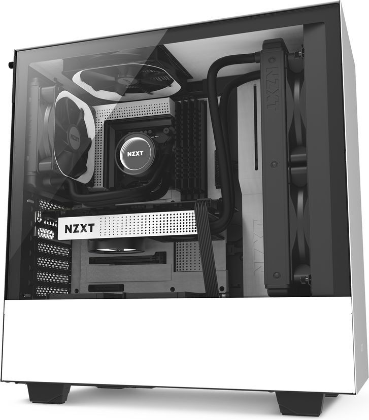 Obudowa Nzxt H500 okno, biały (CA-H500B-W1) 1
