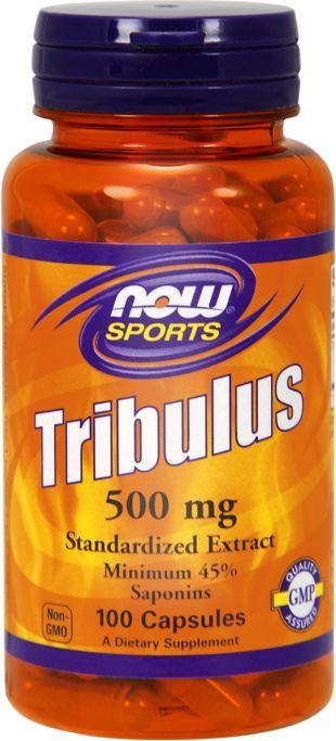 NOW Foods Tribulus 500mg 100 kapsułek 1