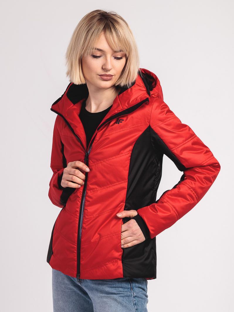 kurtka pikowana czerwona 4f