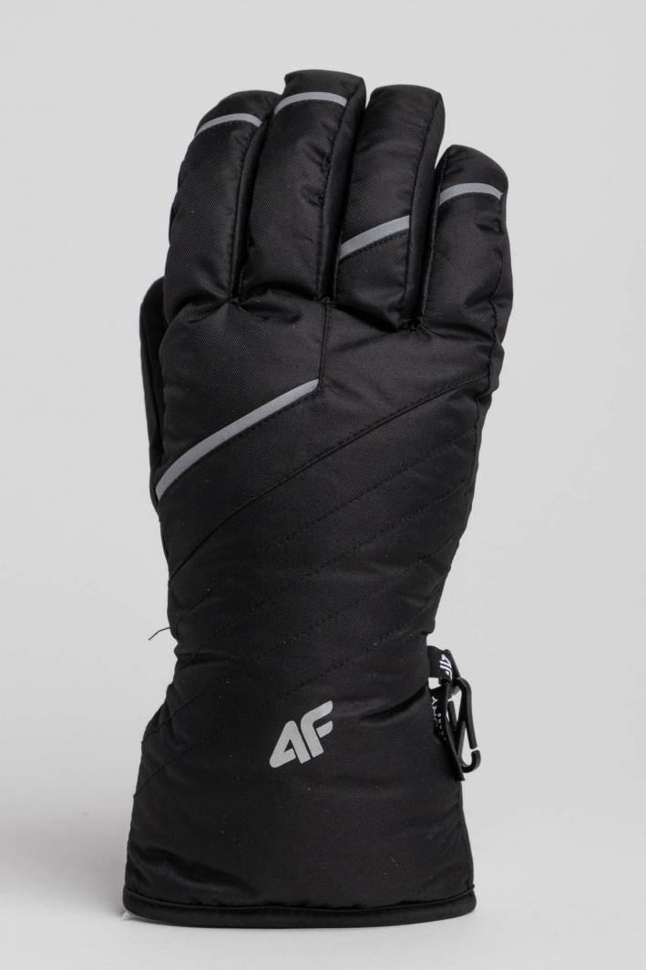 4f Rękawice męskie H4Z18-REM003 czarne r. M 1