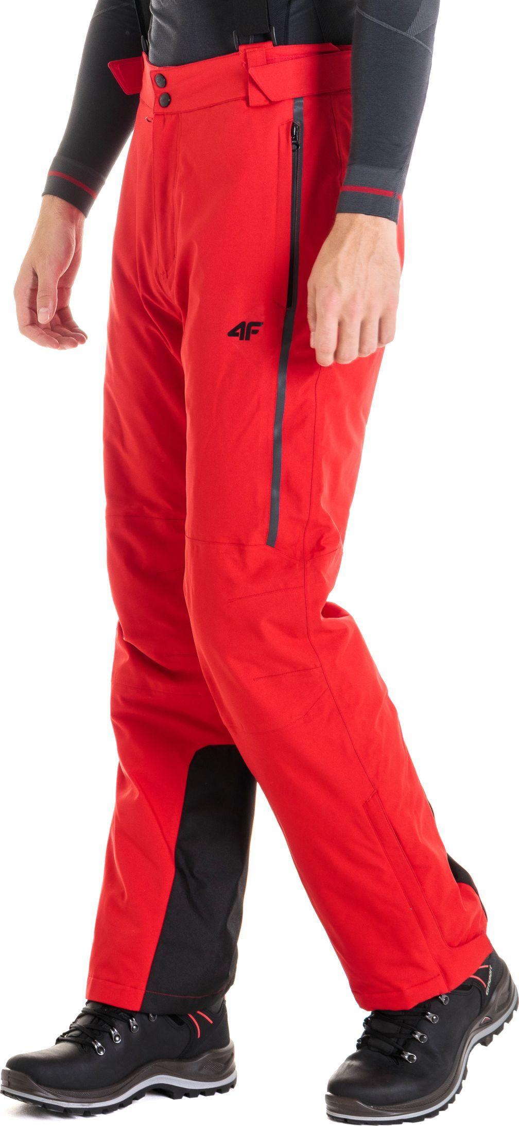 4f Spodnie narciarskie męskie czerwone r. M (H4Z18 SPMN004) ID produktu: 4598549