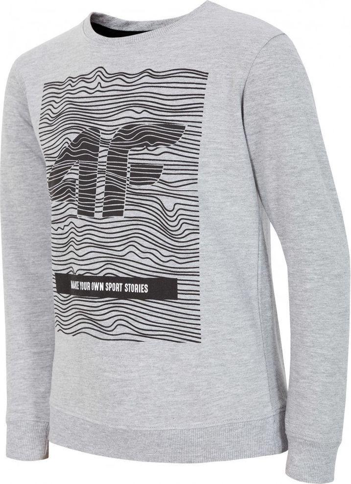 Outhorn Koszulka longsleeve dziecięca HJZ18 JTSML001 szara r. 134 ID produktu: 4599105