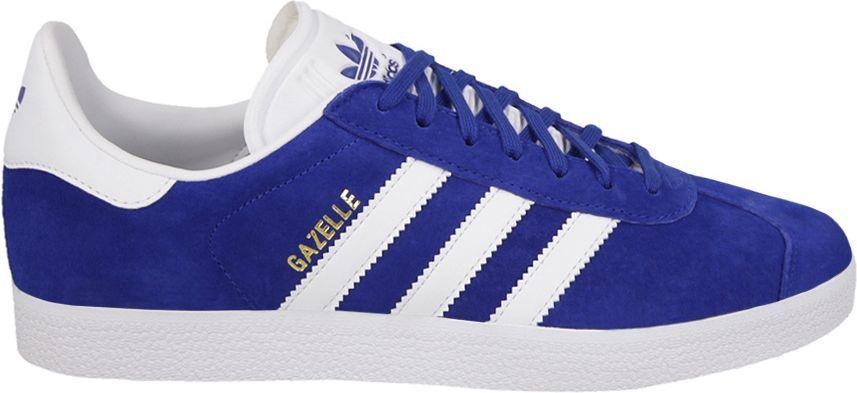 Pierwsze spojrzenie najlepiej sprzedający się najwyższa jakość Adidas Buty męskie Gazelle niebieskie r. 46 (S76227) ID produktu: 4600458