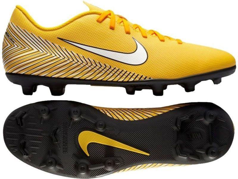 Buty piłkarskie Nike Mercurial Vapor XII Elite FG Pomarańczowy żółty