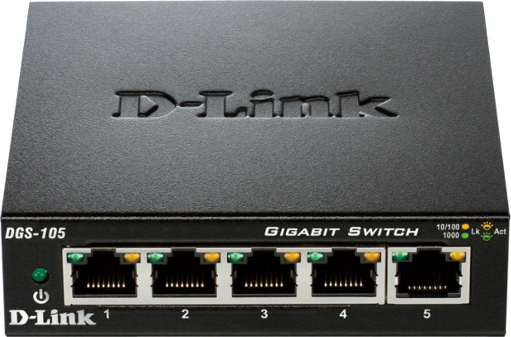 Switch D-Link DGS-105/E 1