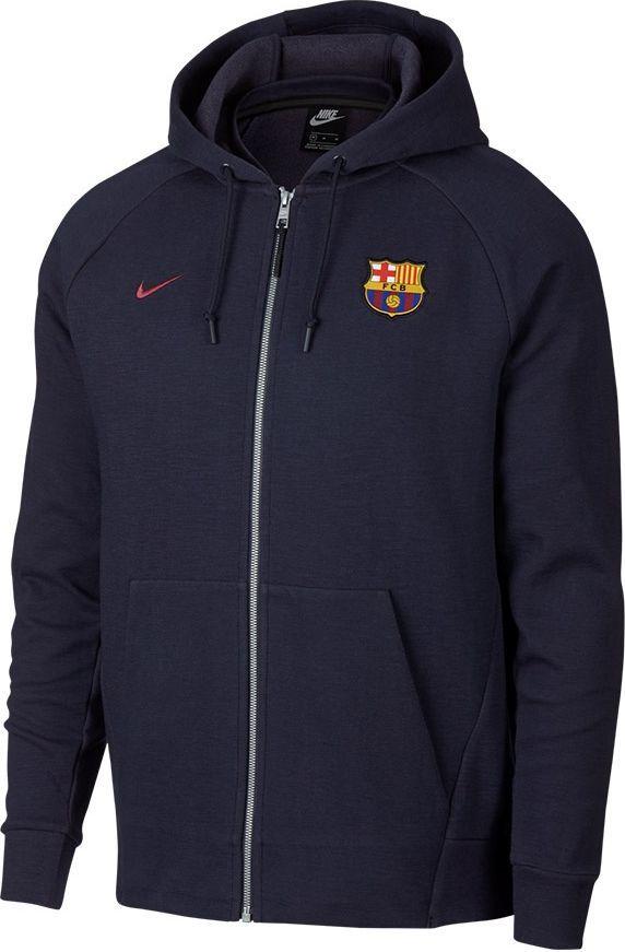 na wyprzedaży najnowsza zniżka online tutaj Nike Bluza męska FC Barcelona granatowa r. XXL (892452451) w Sklep-presto.pl