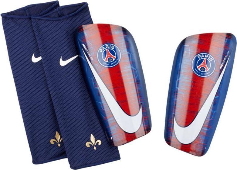 1f7c0d43a Nike Ochraniacze piłkarskie PSG niebieskie r. XS (SP2134 421) w Sklep -presto.pl