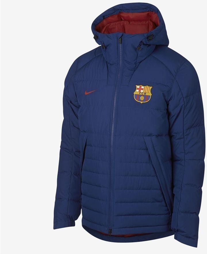c3df0932d Nike Kurtka męska Sportswear FC Barcelona niebieska r. L (AH7322) w  Ubieramy.pl