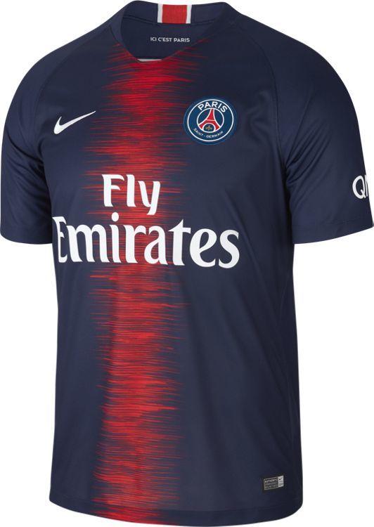 Nike Koszulka piłkarska Breathe PSG Home Stadium granatowo czerwona r. M (894432 411) ID produktu: 4616595
