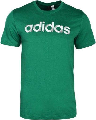 Adidas Koszulka męska Slider Linear zielona r. XS (CV4512) ID produktu: 4621580