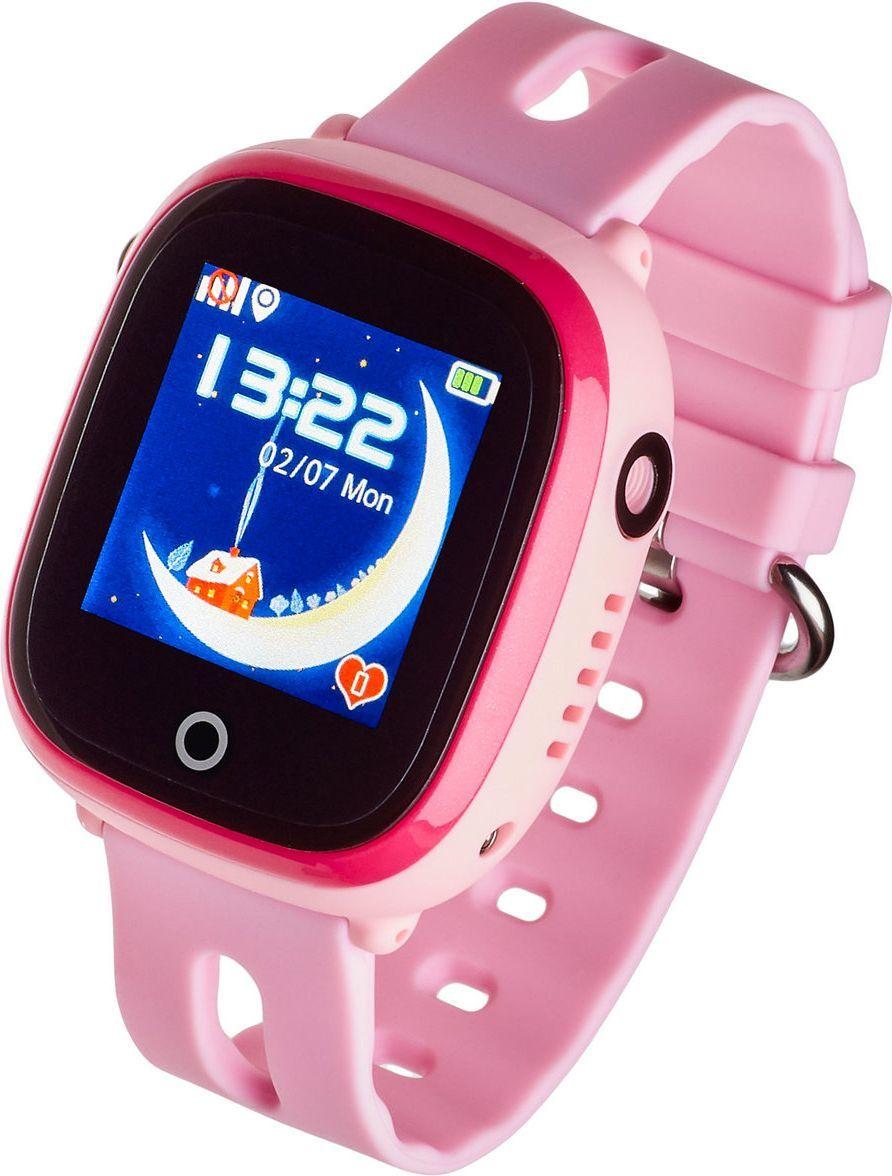 Smartwatch Garett Electronics Kids Happy Różowy  (5903246280531) 1