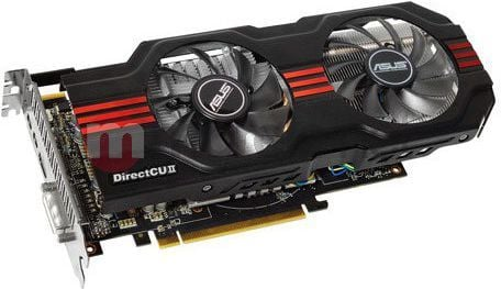 Karta graficzna Asus Radeon HD7850 2048MB DDR5/256bit DVI/HDMI/DP PCI-E (860/4800) (wentylator DirectCU II) (HD7850-DC2-2GD5) 1