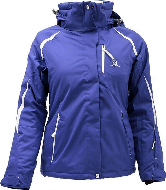 odziez trekkingowa salomon kurtka narciarska damska reflex
