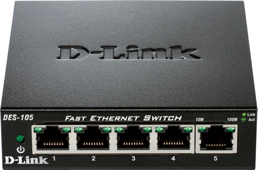 Switch D-Link DES-105 1