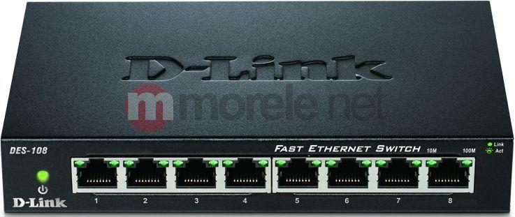 Switch D-Link DES-108/E 1