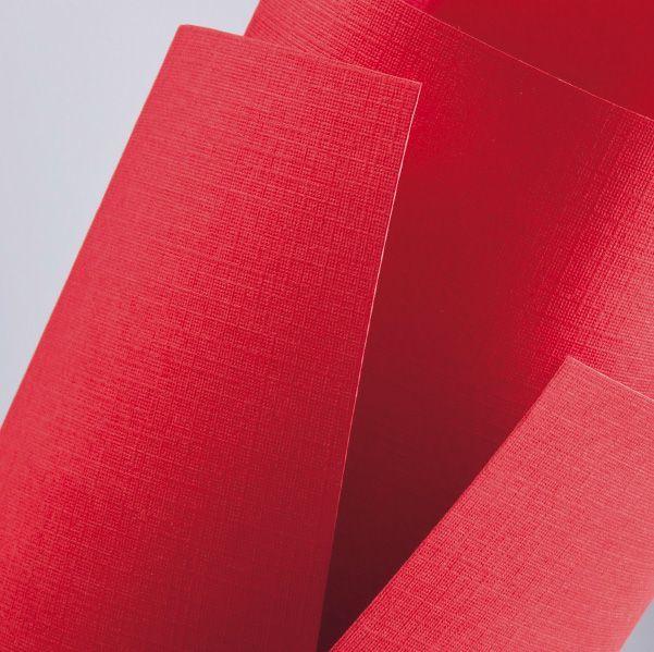 Argo Papier ozdobny (wizytówkowy) Galeria Papieru holland chińska czerwień A4 czerwony 220g 1