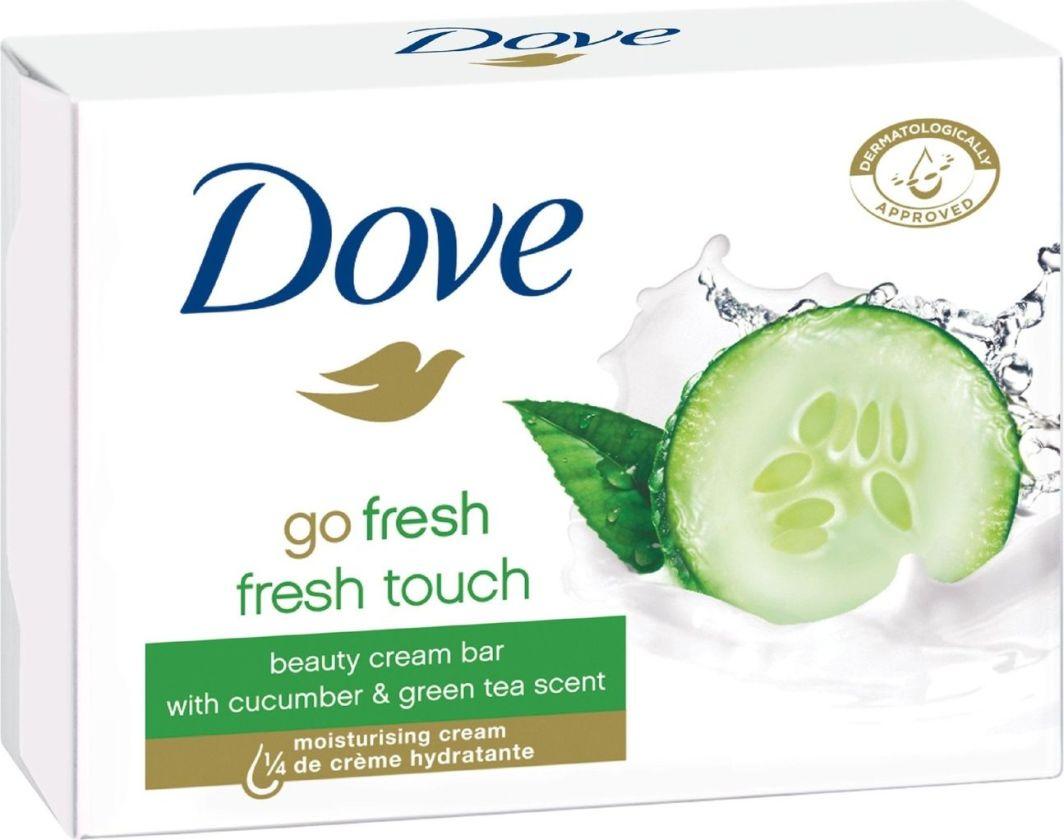 Dove  Go Fresh Touch Cucumber&Green Tea Nawilżające mydło w kostce 2x100g 1