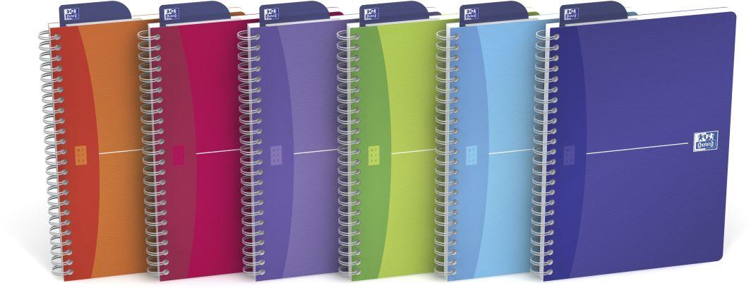 Oxford Kołonotatnik My Colours A5 90k kratka 1