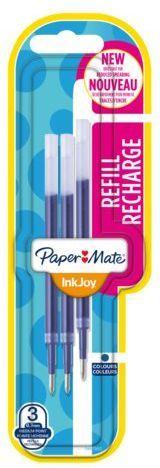Paper Mate Wkład do długopisu INKJOY gel niebieski 3szt.blister (1957051 ) 1