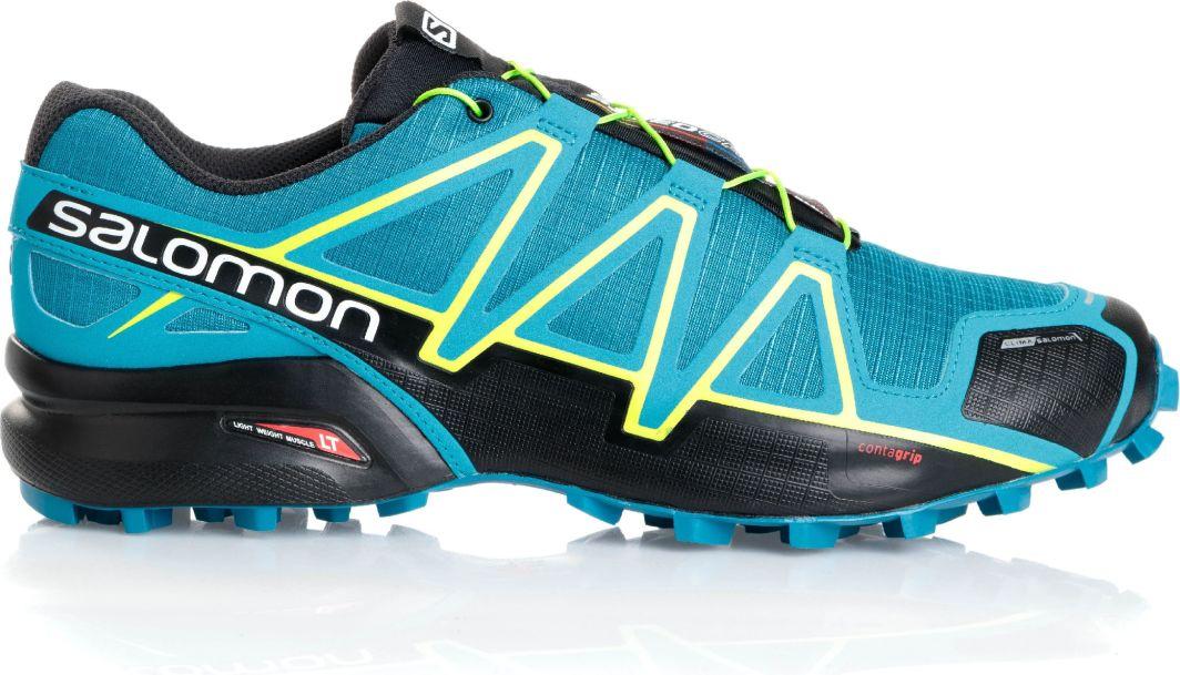 Salomon Buty męskie Speedcross 4 CS niebiesko czarne r. 43 13 (398425) ID produktu: 4640814