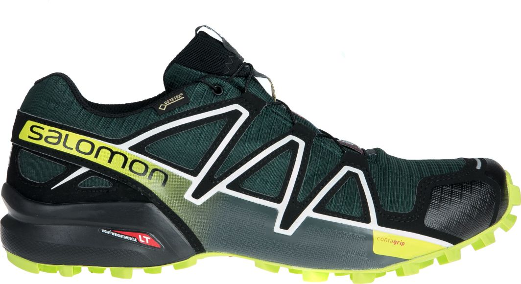 Salomon Buty męskie Speedcross 4 GTX Darkest SpruceBlack r. 42 (404662) ID produktu: 4640830