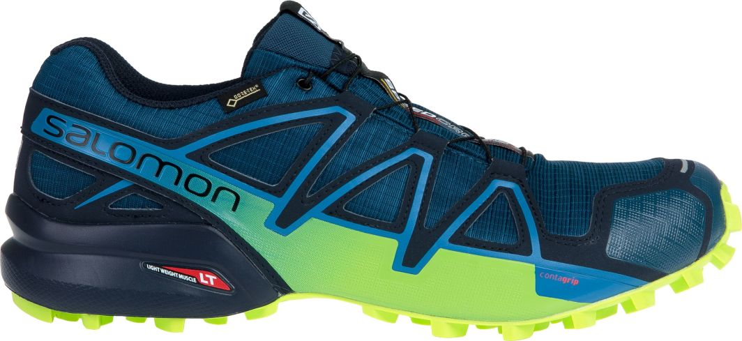 Salomon Buty męskie Speedcross 4 GTX PoseidonNavy BlazerLime Green r. 46 (404923) ID produktu: 4640836