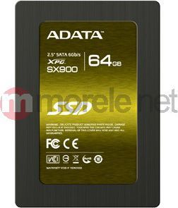 "Dysk SSD ADATA 64 GB 2.5"" SATA III (ASX900S364GMC) 1"
