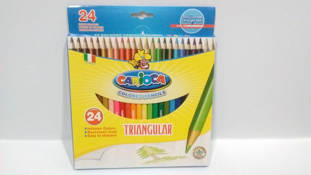 Carioca Kredki Carioca ołówkowe, 24 kolorów (40381) 1