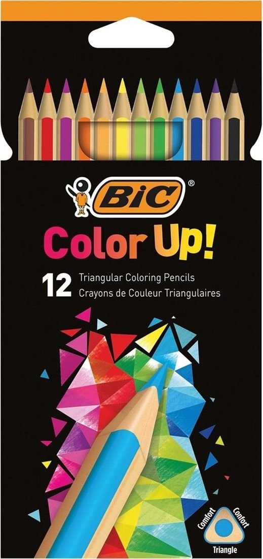 Bic Kredki Color Up, 12 kolorów (BICC0543) 1