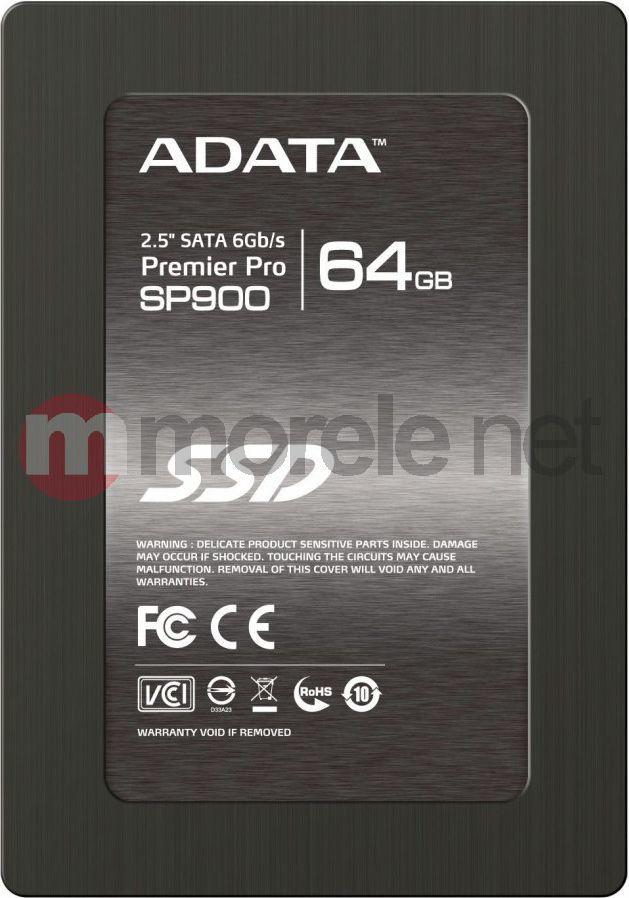 "Dysk SSD ADATA 64 GB 2.5"" SATA III (ASP900S364GMC) 1"