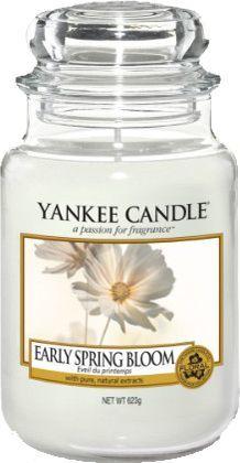 Yankee Candle Large Jar duża świeczka zapachowa Early Spring Bloom 623g 1