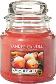 Yankee Candle Classic Medium Jar świeca zapachowa Summer Peach 411g 1